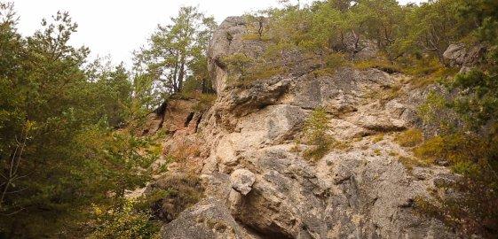 Prírodná pamiatka Briestenské skaly