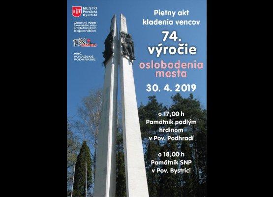 74. výročie oslobodenia mesta (Považské Podhradie)