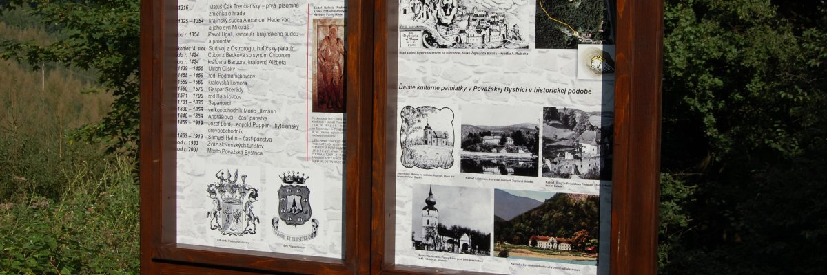 Náučný chodník na Považský hrad