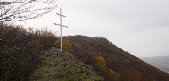 Dvojkríž na vrchu Malý Manín